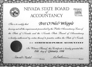 Nevada State Board of Accountancy